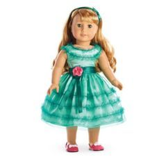 Maryellen's Birthday Dress | maryellenworld | American Girl