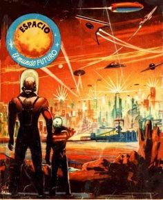 Space, the future world sci-Fi Pocket Books Collection (Spain 1950'S-60's). http://best-sci-fi-books.com/23-best-hard-science-fiction-books/