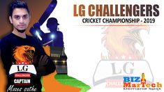 Bizmartech Championship 2019  Team LG Challengers  #team #championship #cricket #ground #fun #sports #skills