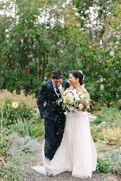 Neutral Fall Wedding
