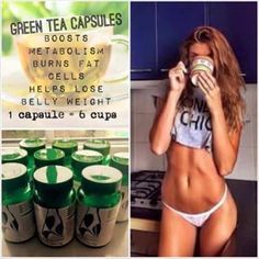 Who is joining me on the green tea challenge? Green tea capsules Buy NOW 💖FB. Green Tea Capsules, Tegreen Capsules, Green Tea Benefits, Best Detox, Lose Weight, Weight Loss, Green Tea Extract, Boost Metabolism, Loving Your Body
