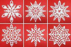 Schneeflockengirlande - Musteranleitung