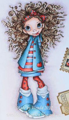 The Canary Blog -  Red: E19 - R08 - R05 - R02  Skin: E11 - E00 - E000  Hair: E47 - E44 - E43 - E42 - E41  Blue: B99 - B97 - B95 - B93 - B91  Blue / Green: BG78 - BG75 - BG72 - BG70  White: T4 - T2 - T0  Background: E71 - E70