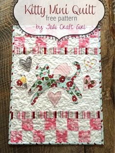 """Adorable!  Could not fine the """"print pattern"""" or download. The Crafty Quilter - Page 2 of 62 - Quilting tips and inspiration"""