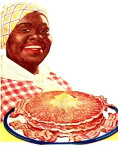 Aunt Jemima (holds many memories for me!) YUMMY pan cake mix that's still available but her picture on the package has changed with the times