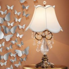 Crystal Table Lamp $89.95