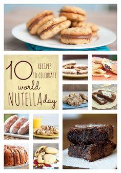 10 easy recipes full of Nutella from bunsinmyoven.com