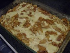 Apple Kuchen (Apfel Kuchen) - omg! I finally found it! My grandmother used to make this for me every weekend I went to visit back in South Texas.  I've searched everywhere for this delicious childhood staple.  I'm sure she left out the coconut.....I'll be trying this one soon!  To my German heritage ...yummy!!