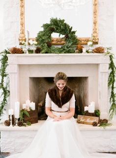 <p>Be still our hearts! We may just have the perfect winter inspiration for you from the dream team of Michelle Leo Events, Blooms & Blossoms, and Jacque Lynn Photography! Using the gorgeous neutral backdrop of Park City's Washington School House hotel, Michelle captured the elegance of the season with fresh evergreen garlands, wood stump chargers, crisp white linens, and pine …</p>
