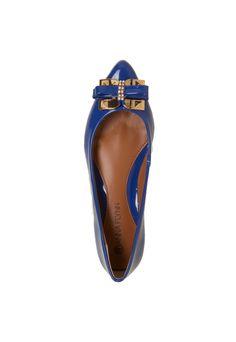 Sapatilha Anna Flynn Laço Azul - Compre Agora | Dafiti Brasil