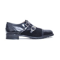 Zapatos blucher negros PRIMICHI I23 1618N