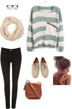 Hang out outfit. Comfy