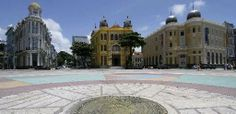 Recife Antigo, Praça do Marco Zero, Recife - Pernambuco - Brazil.