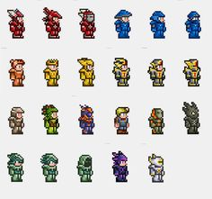 Terraria Armors by Lagator-333 on deviantART