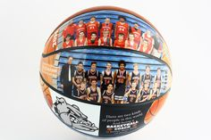 Perfect gift for basketball senior night for coaches and basketball players. Customize your own with Make A Ball