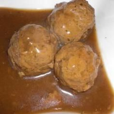 Polpette in salsa Salsa, Roast, Low Carb, Pudding, Cheese, Vegan, Cooking, Desserts, Food