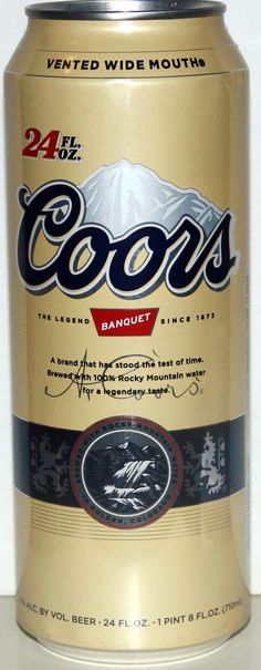 Elegant Coors Commemorative Heritage Can | Can Name Coors Banquet Beer Brewery Name  Coors Golden Co Can Images