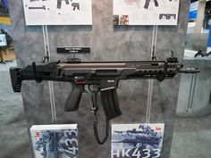The HK433: Up Close and Personal at [AUSA 2017] - The Firearm BlogThe Firearm Blog