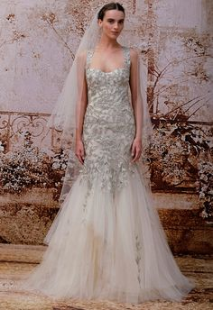 Monique Lhuillier Wedding Dresses Fall 2014