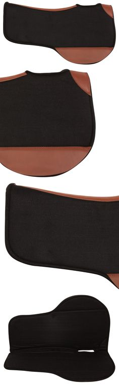 Other Western Tack 47301: Western Wool Gel Pro Fit Leather Therapeutic Saddle Pad Tack -> BUY IT NOW ONLY: $74.99 on eBay!