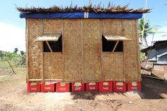 Paper Log House- Philippines| Shigeru Ban Architects