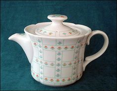 Judith Raices  Toscany Collection  Fine Porcelain Coffee Pot