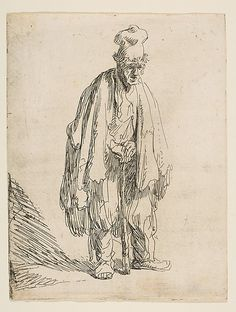 Rembrandt van Rijn: Beggar in a high Cap.     One of my favorites!!!