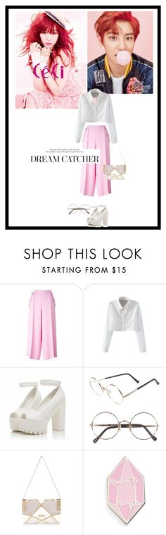 """""""Fanyeol"""" by sena-celik ❤ liked on Polyvore featuring Tiffany & Co., MABEL, Emilio Pucci, WithChic, Sunday Somewhere, River Island and Big Bud Press"""