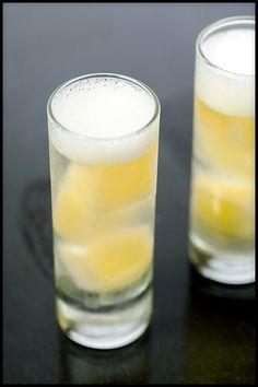 Piña Coladas...Molecular Gastronomy Style   spachethespatula.com #recipe