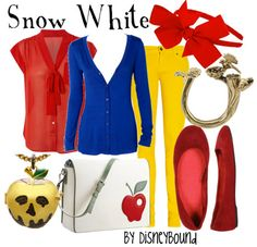 one of my favorite disneybound character-inspired sets.. this would be so outrageously fun to wear