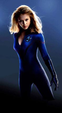 "Invisible Woman / Susan ""Sue"" Storm ""Jessica Alba"" Fantastic Four (2005)"
