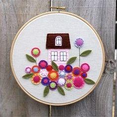 Fieltro bastidores-embroidery-hoops