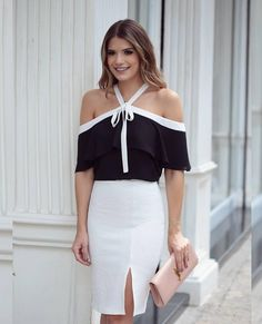 Sexy unique & stylish look 👌👍💋😍🌹 Queen Fashion, Love Fashion, Fashion Looks, Fashion Outfits, Fashion Design, Fashion Trends, Latest Fashion, Fashion Ideas, Classy Outfits