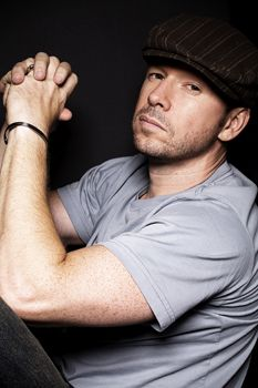 Donnie Wahlberg. Loved him since New Kids on the Block....and still today. Watch Blue Bloods! It's awesome!