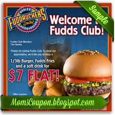 printable fuddruckers coupons 20 off February 2015