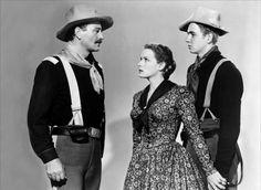 1950 - Río Grande - Rio Grande - John Wayne, Maureen O'Hara, Ben Johnson,