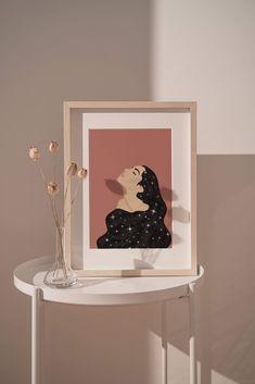 Starry Woman - 16×20