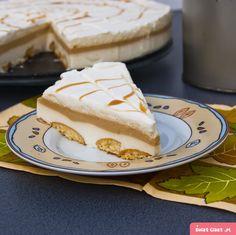 sernik latte macchiato - Swiatciast.pl Latte Macchiato, Cupcake Cakes, Cupcakes, Cheesecakes, New Recipes, Sweet Treats, Cooking, Breakfast, Ethnic Recipes