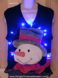 You wont get lost in this bright and brilliant ugly Christmas sweater vest. www.MyUglyChristmasSweater.com