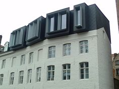 A stunning contemporary mansard by the canal, Ghent