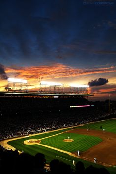 Lights of Wrigley Field by `red5