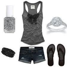 Black summer outfit, So cute!!!!!!!!!!