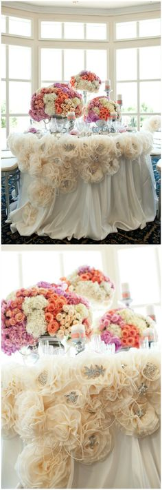 Wedding ● Tablescape Reception Décor