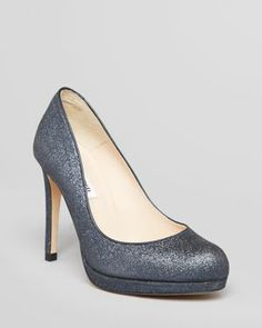 These glittery L.K. Bennett sledges will add a touch of sparkle to any New Year's Eve outfit.