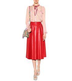 mytheresa.com - Silk blouse - Luxury Fashion for Women / Designer clothing, shoes, bags