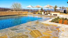 Dive in or just dip your toes into this gorgeous pool. #SanDiego