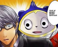 Teddie and Yu from Persona 4