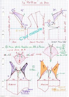 Techniques Couture, Sewing Techniques, Easy Sewing Patterns, Clothing Patterns, Sewing Hacks, Sewing Tutorials, Manga Raglan, Old Sewing Machines, Sewing School