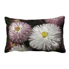 Beautiful Bellis Throw Pillow