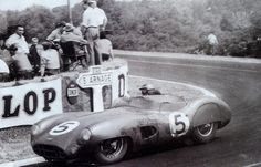 Carroll Shelby / Roy Salvadori, #5 Aston Martin DBR1/300 (David Brown Racing Dept.), 24 Hours Le Mans 1959 (1st)